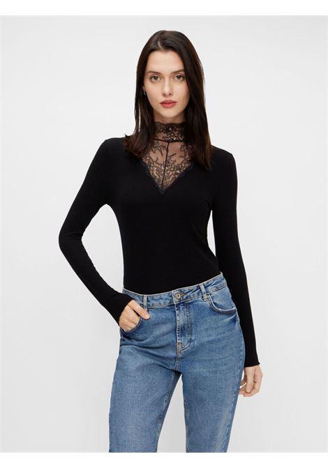 High neck PIECES | Shirts | 17106209NERO