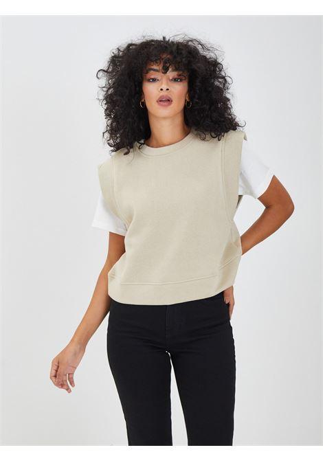 Sweatshirt PIECES | vests | 17115897BEIGE