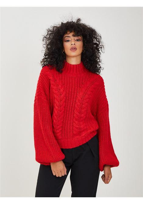 Pullover VERO MODA | Maglioni | 10251337ROSSO