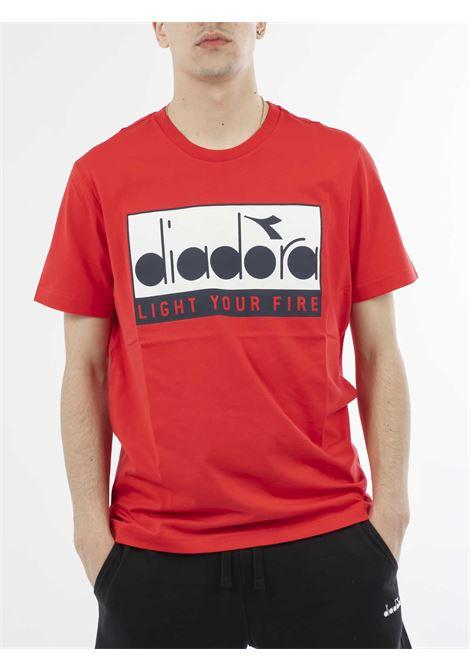 DIADORA | T-shirt | 502.175835ROSSO