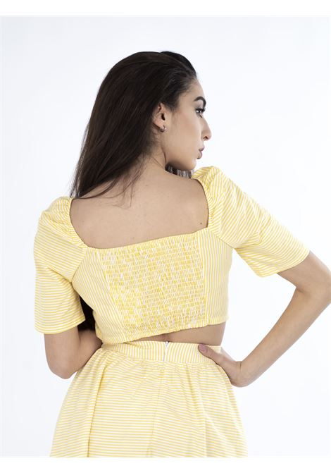 Top GLAMOROUS | Top | AN3737GIALLO