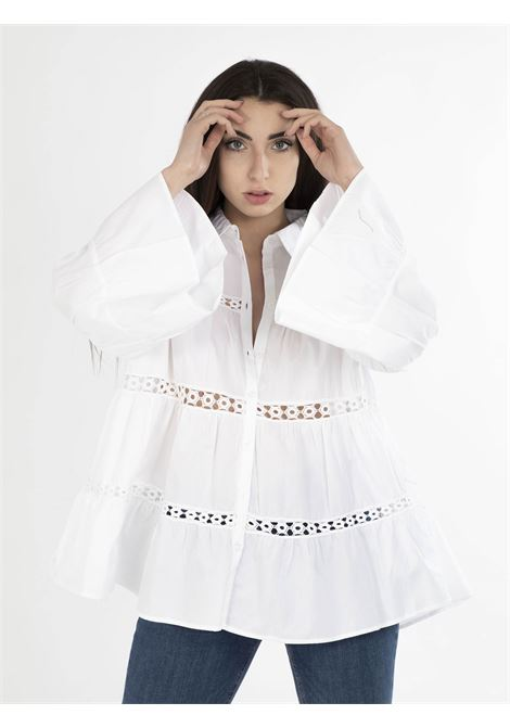 Camicia GLAMOROUS | Camicie | IN1550BIANCO