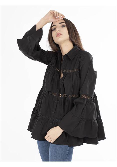 Camicia GLAMOROUS | Camicie | IN1550NERO
