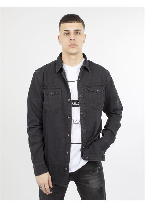 camicia denim JACK & JONES | Camicie | 12138115NERO