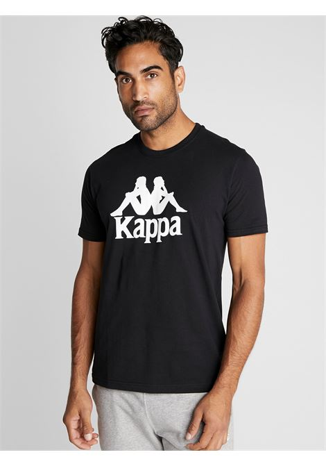 t-shirt logo KAPPA | T-shirt | 3111FRWNERO