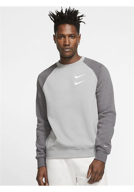 Sportswear swoosh NIKE | Felpe | CJ4871GRIGIO