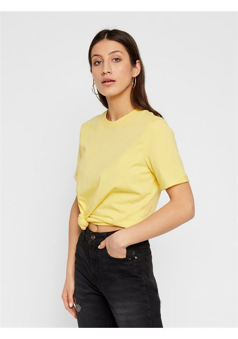 PIECES | T-shirt | 17088970GIALLO