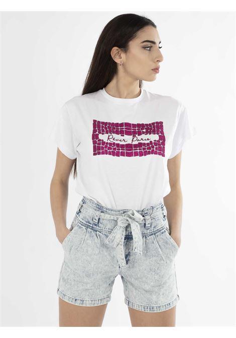 t-shirt REVER | T-shirt | RA015120DBIANCO