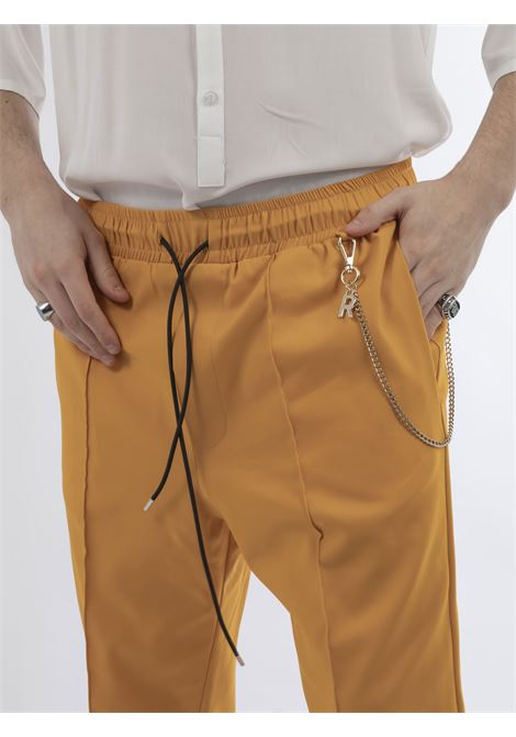 REVER | Trousers | RV96120UGIALLO