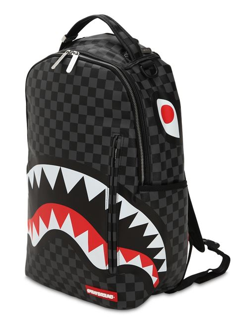 ZAINO SHARK IN PARIS CHECK SPRAYGROUND | Zaini | 910B1374NSZNERO