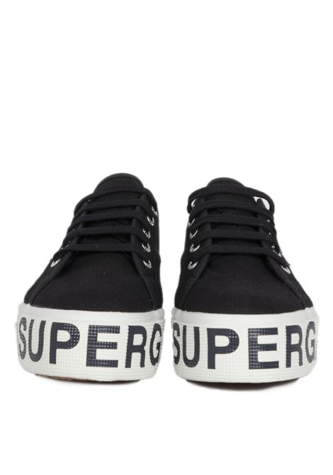 outsole lettering SUPERGA | Sneakers | S00FJ80NERO