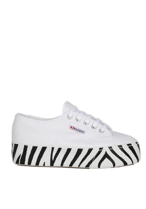 printed foxing SUPERGA | Sneakers | S41157WZEBRATO