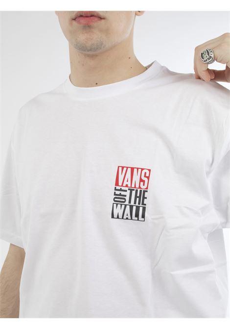 T-shirt VANS | T-shirt | VN0A49Q6WHT1BIANCO