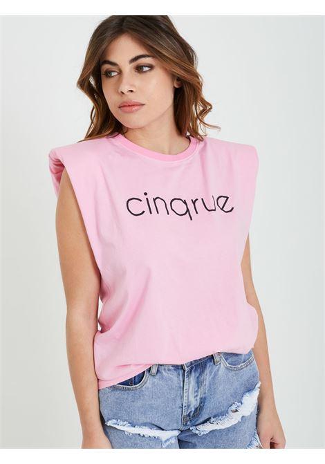 T-shirt 5 RUE | Tank top | SS1064ROSA