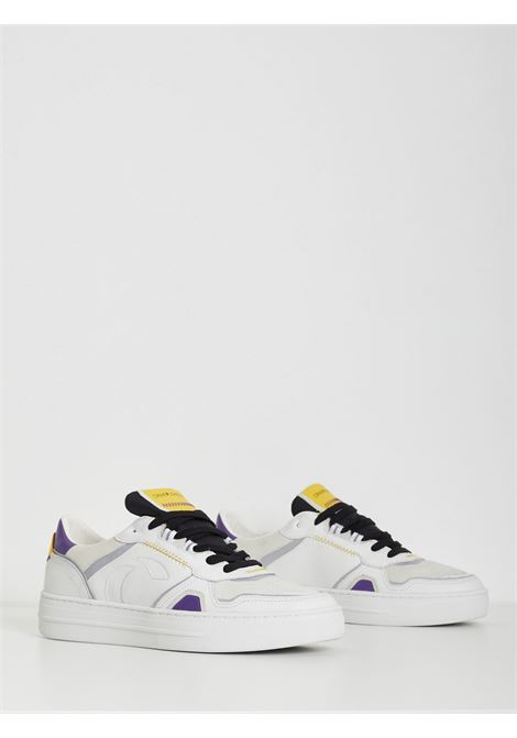 low top off court CRIME | Sneakers | 11008BIANCO