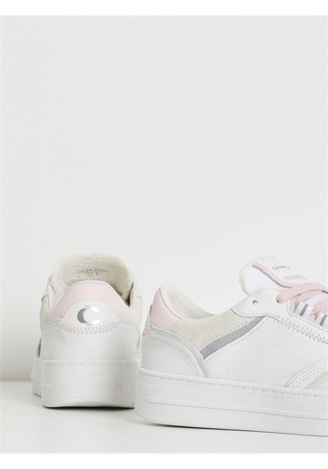 low top off court CRIME | Sneakers | 25005BIANCO