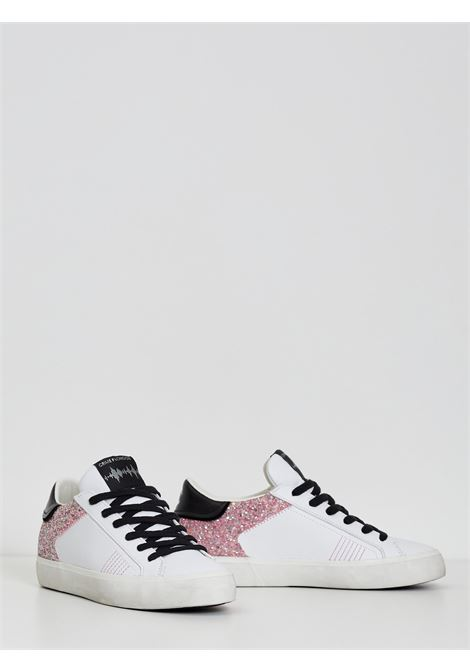 LOW TOP DISTRESSED CRIME | Sneakers | 25500BIANCO