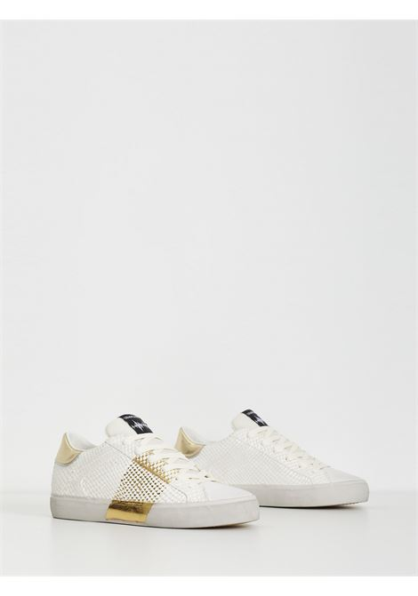 low top distressed CRIME | Sneakers | 25558BIANCO