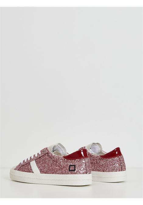 HILL LOW GLITTER DATE | Sneakers | W341-HL-GL-PKROSA