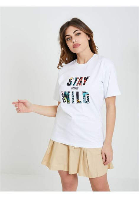 T-shirt DRAME'E | T-shirt | 21073BIANCO