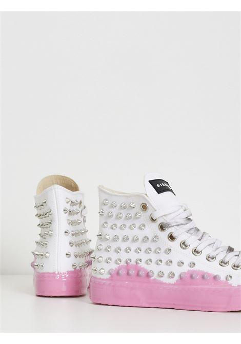 JEAN MICHEL GIENCHI | Sneakers | JEAN MICHEL HIHG COLBIANCO