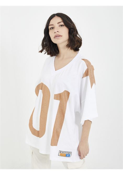 T-shirt KOSTUMN | T-shirt | KE21123BIANCO