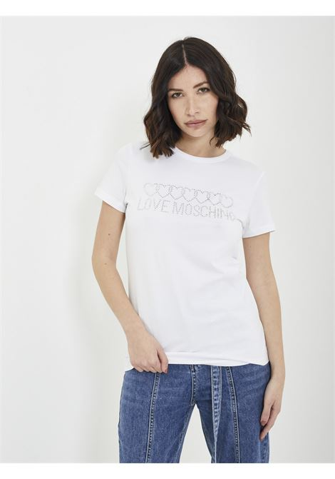 T-shirt MOSCHINO | T-shirt | W4F73 1QBIANCO