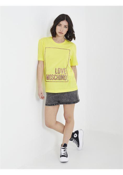 T-shirt MOSCHINO | T-shirt | W4H06 05 MGIALLO