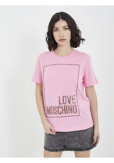 T-shirt MOSCHINO | T-shirt | W4H06 05 MROSA