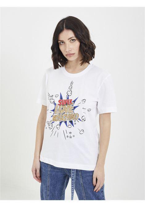 T-shirt MOSCHINO | T-shirt | W4H06 08 MBIANCO