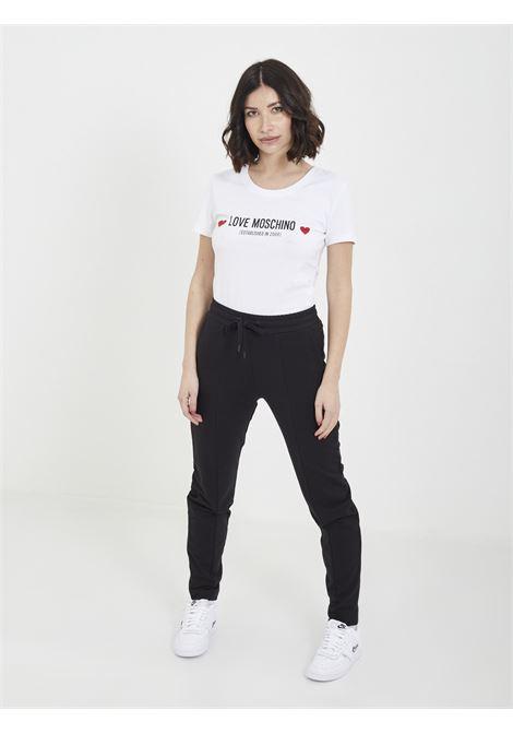 T-shirt MOSCHINO | T-shirt | W4H19 04 EBIANCO