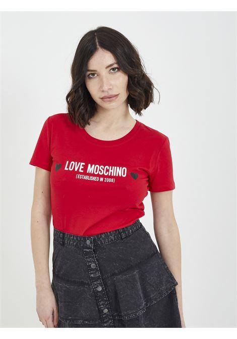 T-shirt MOSCHINO | T-shirt | W4H19 04 EROSSO