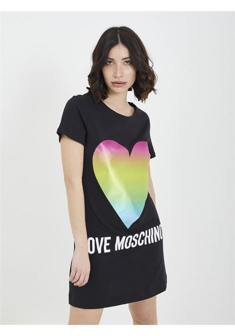 maxi-shirt MOSCHINO | dress | W5929 14 MNERO