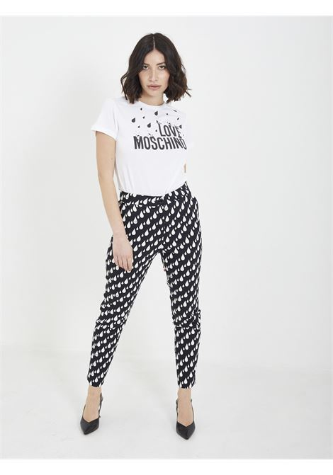 trousers MOSCHINO | Trousers | WPA45 00NERO