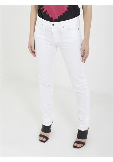 Trousers MOSCHINO | Trousers | WQ387 53 SBIANCO