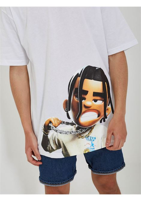 NO SNITCH | T-shirt | 2203H-629BIANCO