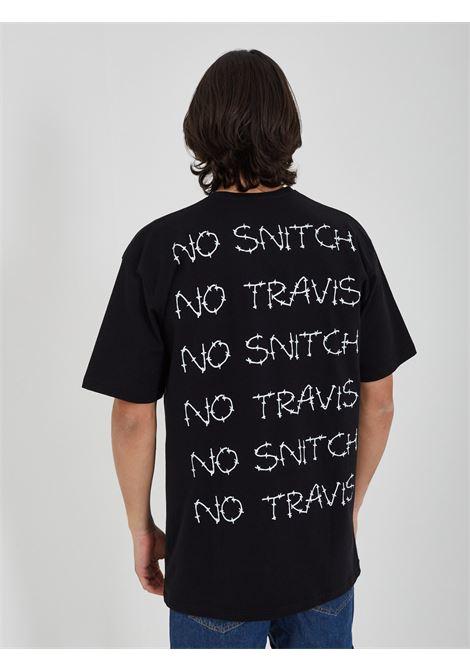 NO SNITCH | T-shirt | 2203H-629NERO