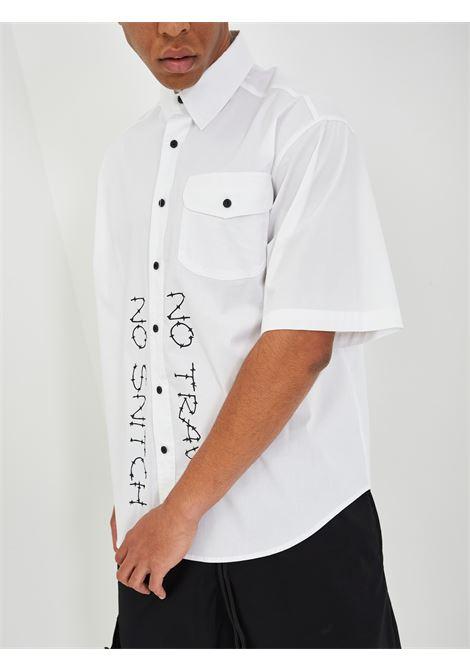 Camicia NO SNITCH | Camicie | NSCA05BIANCO