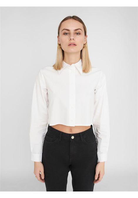 Crop shirt NOISY MAY | Shirts | 27106915BIANCO