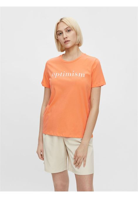 T-shirt PIECES | T-shirt | 17113841ARANCIO