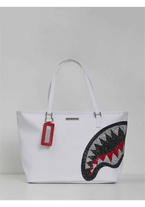TRINITY CRYSTAL TOTE SPRAYGROUND | Bags | 910T3667BIANCO