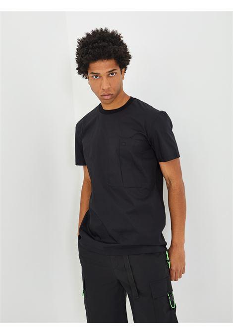 T-shirt WHITE OVER | T-shirt | 00109NERO