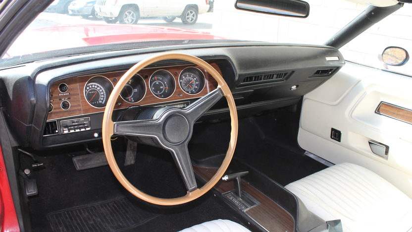 1971 Dodge Challenger Convertible 340 Ci White Interior Mecum Auctions