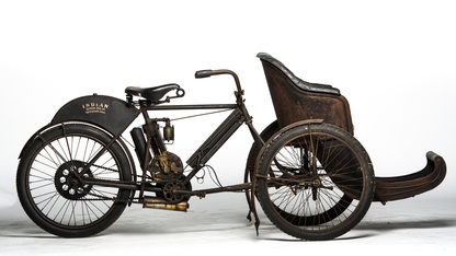 1907 Indian Tri-Car With Sedan Chair