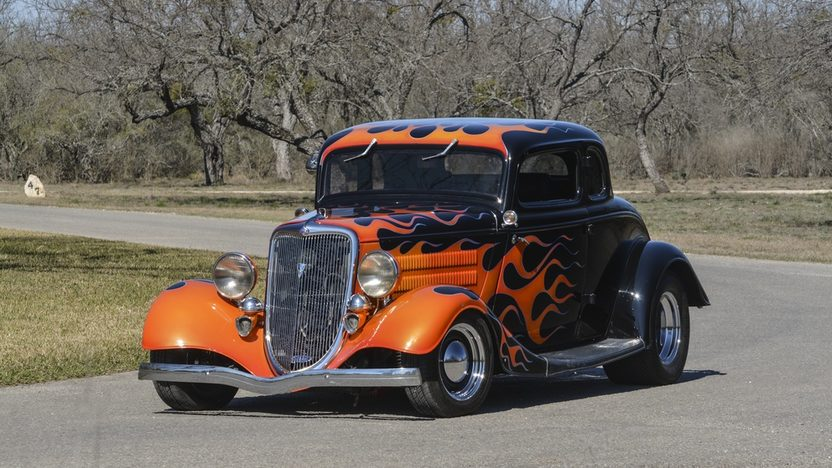 1934 ford 5 window coupe street rod steel body custom for 1934 ford 5 window coupe street rod
