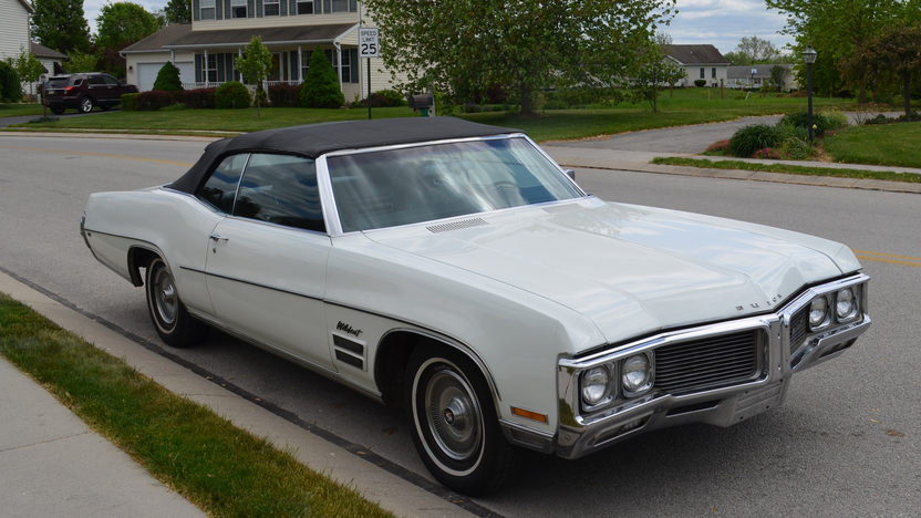 1970 buick wildcat convertible 455 ci automatic presented. Black Bedroom Furniture Sets. Home Design Ideas