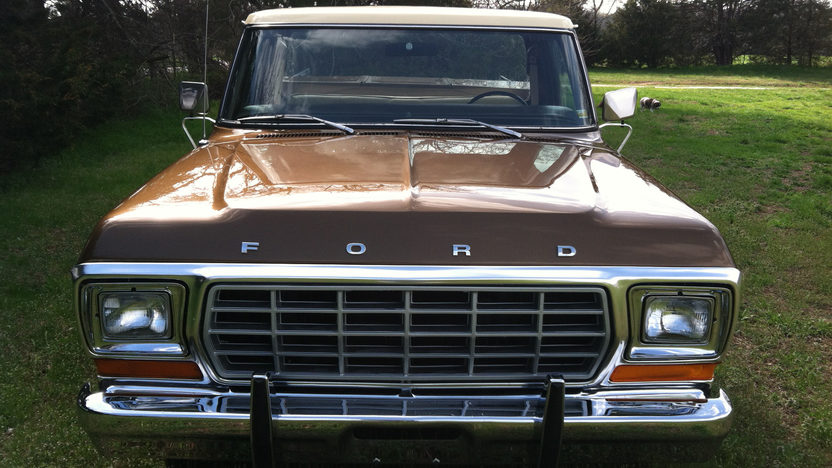1979 ford f150 ranger lariat pickup 400 ci automatic presented as lot