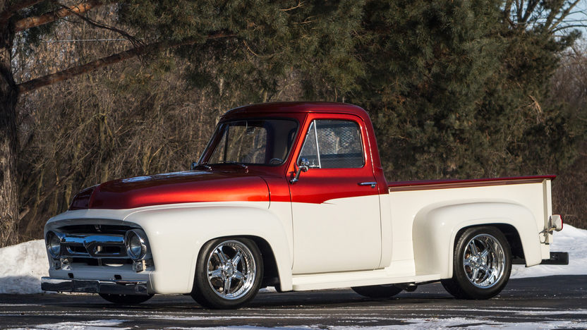 1954 ford f100 pickup 502 502 hp fuel injection mecum for Garage ford metz borny