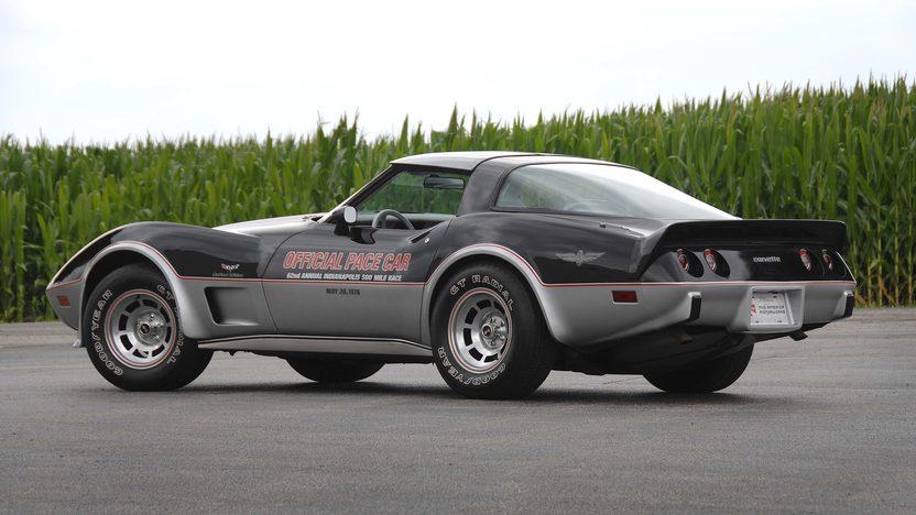 1978 chevrolet corvette pace car edition l82 4 121 miles mecum auctions. Black Bedroom Furniture Sets. Home Design Ideas