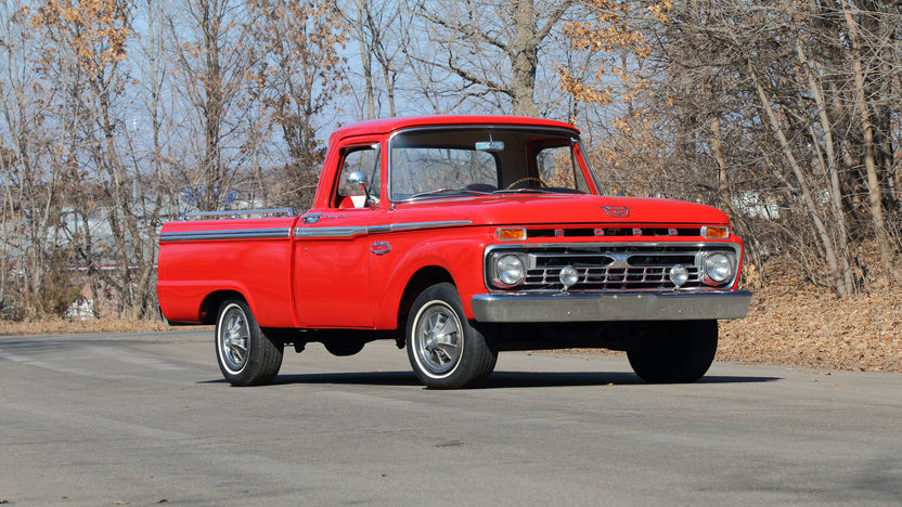 1966 ford f100 pickup 390 ci automatic mecum auctions for Garage ford metz borny